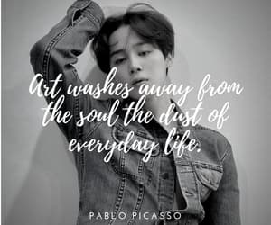 art, quote, and bts image