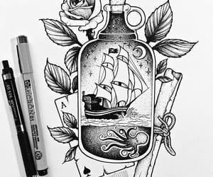 beautiful and drawing image