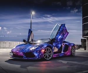 car, Lamborghini, and roadster image