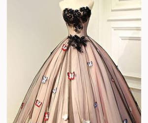 black prom dresses, beautiful prom dresses, and ball gown prom dresses image