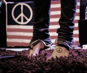 peace, tattoo, and christofer drew image
