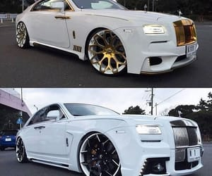 gold, luxury, and rolls image