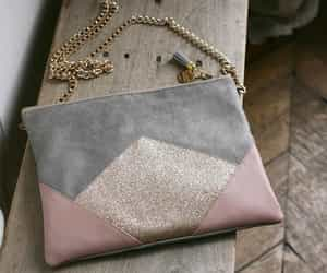 bags, grey, and gris image
