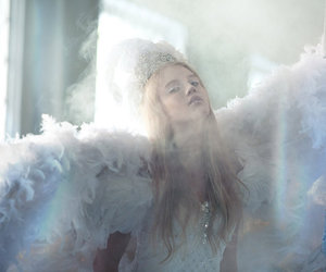angel, girl, and pretty image
