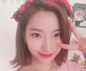 saerom, fromis9, and romsae image