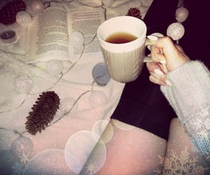 bed, december, and tea image