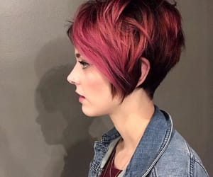 hair and red hair image