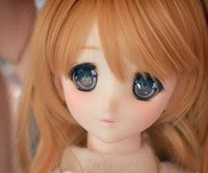 bjd, doll, and eyes image