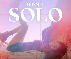 jennie kim, jennie solo, and bp image