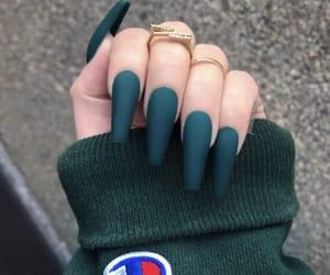 nails, champion, and green image