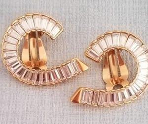 earrings, ninaricci, and rhinestone earrings image