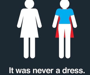 woman, dress, and superwoman image