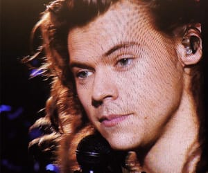 Harry Styles and long haired harry image