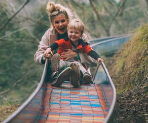 child, travel, and family image