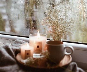 autumn, vintage, and candles image