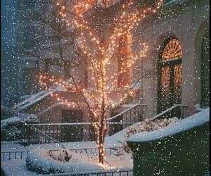 christmas, gif, and snow image