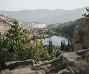 forest, inspiring, and lake image