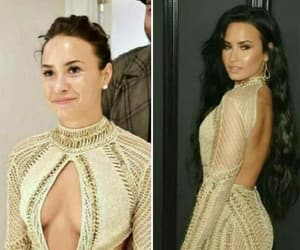 demi lovato, style, and dress image