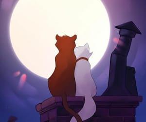 disney and cat image