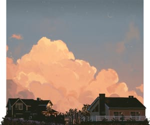 aesthetic, art, and clouds image