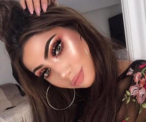 makeup, beautiful, and fashion image