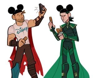 disney, disneyland, and Marvel image