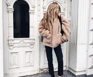 coat, outfit, and winter outfit image