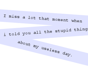 quote, love, and miss image