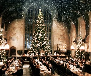 christmas, harry potter, and header image