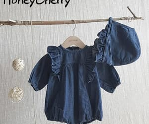 baby, girls, and babyclothing image