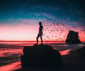 art, nature, and sky image