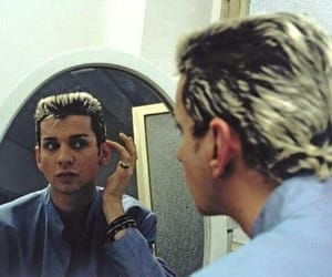 80s, dave gahan, and depeche image