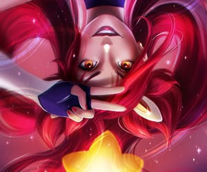 jinx, art, and league of legends image