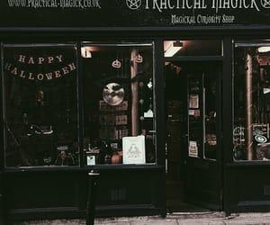 Halloween, dark, and theme image