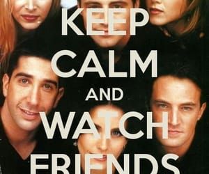 friends and keep calm image
