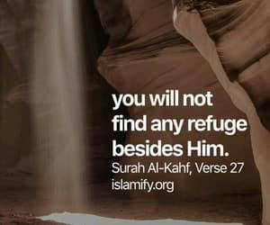 quran, verse, and surah kahf image