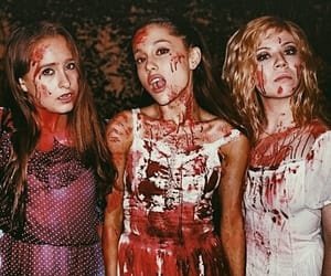 dark, Halloween, and ariana image