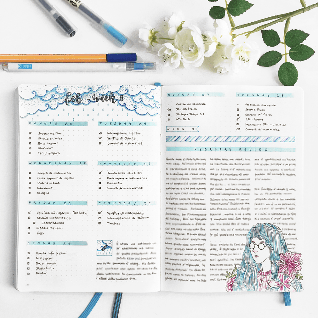 bluelahe - Bullet Journal uploaded by Karen Naomi
