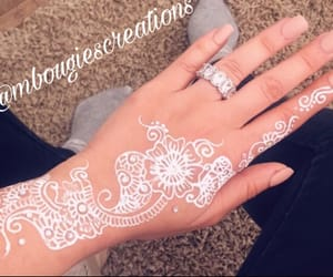 henna, luxury, and henné image