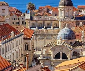 city, Croatia, and dubrovnik image
