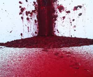 art, burgundy, and red image