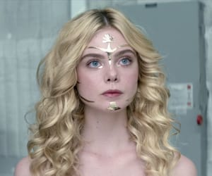 beauty, neon demon, and Elle Fanning image