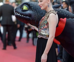 blanchett, cate, and howtotrainyourdragon image