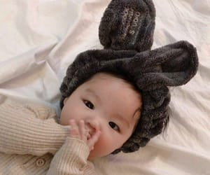 baby, asian baby, and cute image