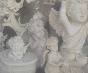angel, pale, and white image
