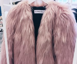 fashion, fur, and pink image