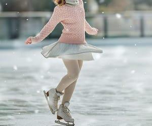 aesthetic, girl, and ice image