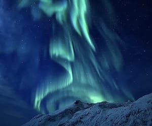aurora, space, and winter image