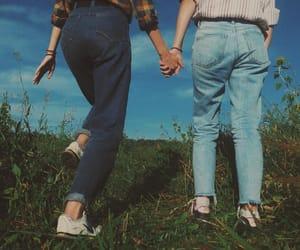 summer, girls, and retro image