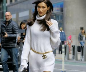 chanel, fashion, and knitted dress image